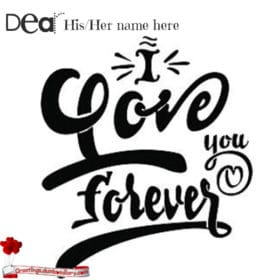 Forever Love You Card